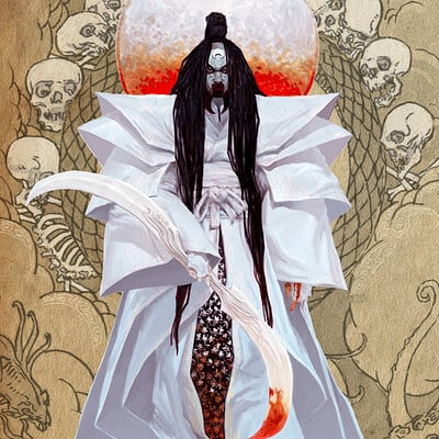 Adrian smith japanese gods tsukuyomi