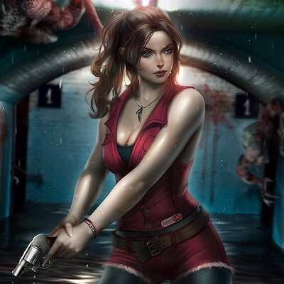 Ayyasap claire redfield by ayyasap dczr28f