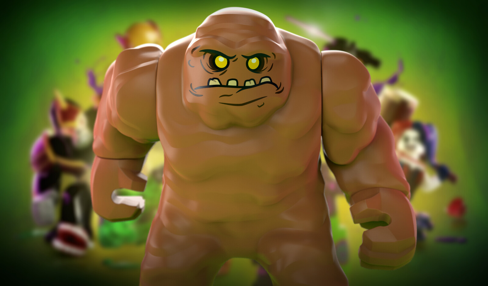 LEGO Clayface TT Games