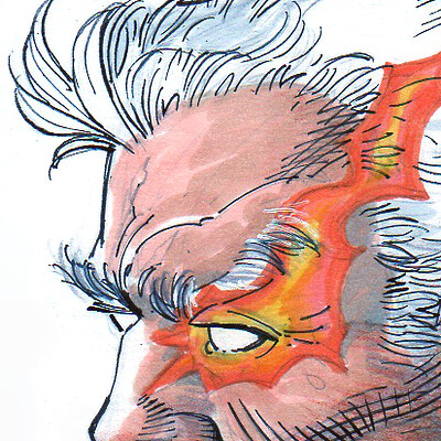 Frank percy sketch card cable