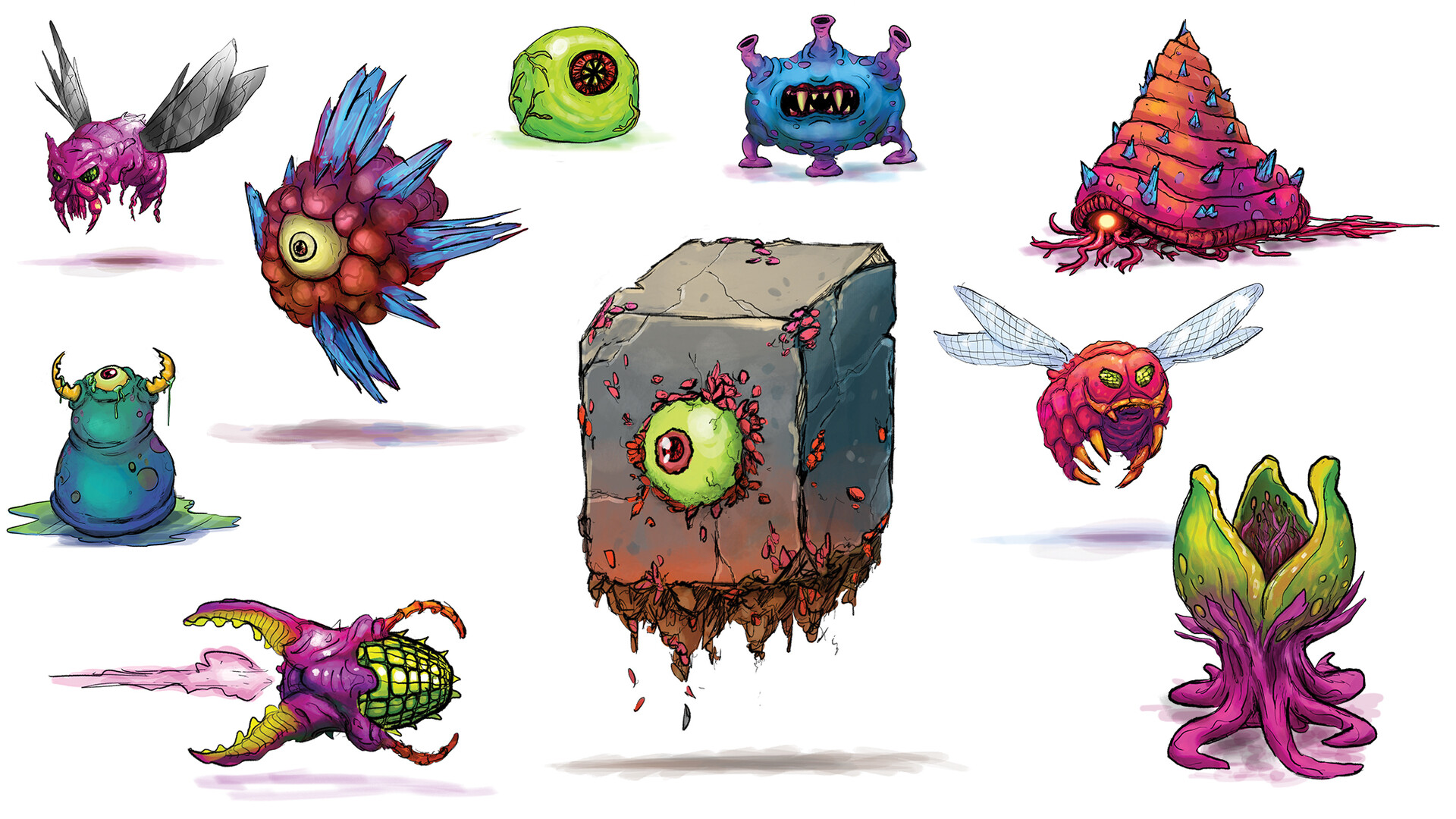 Jon wofford xeodrifter monsters