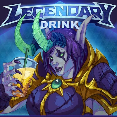 Randell fain 3 legendary drink noflavortext