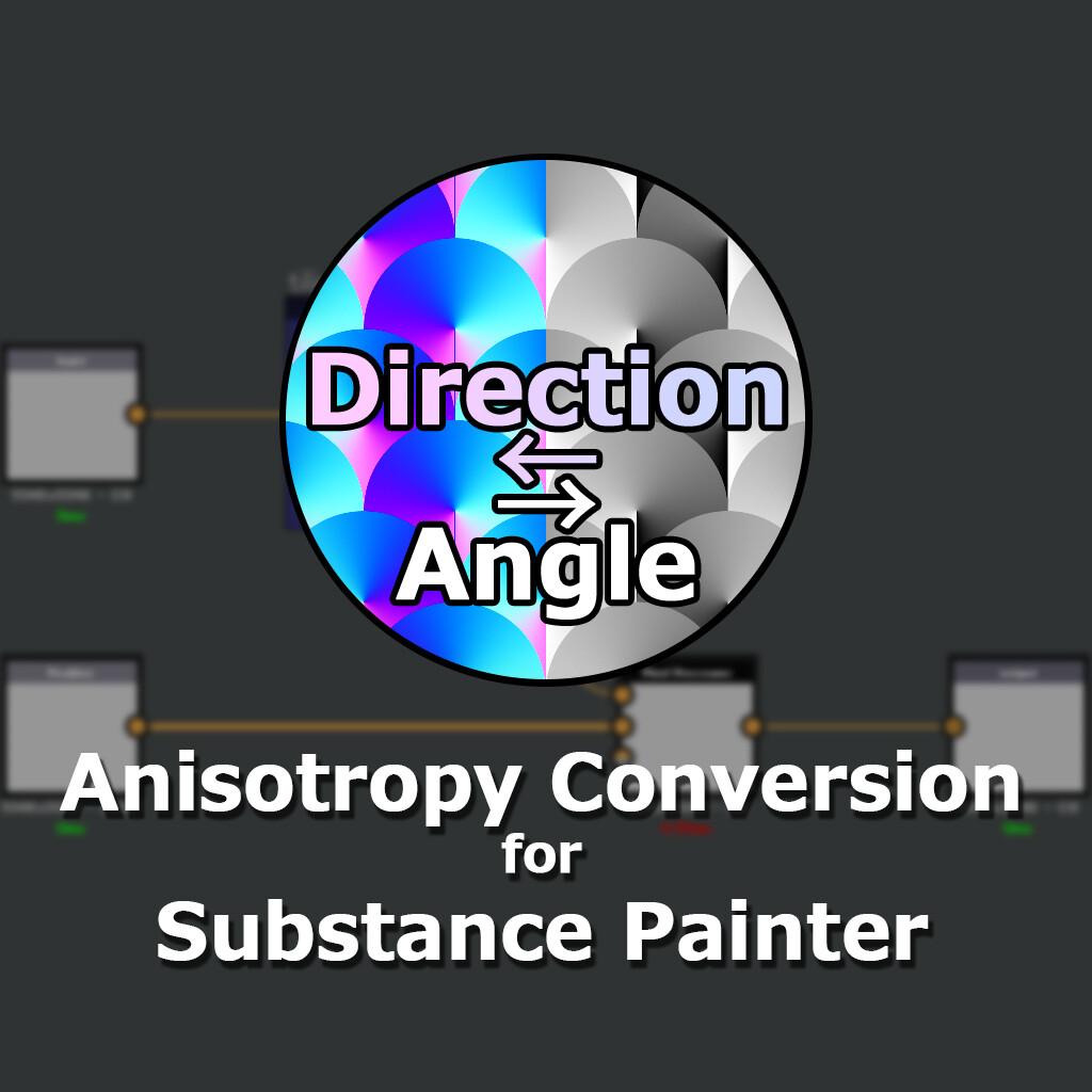 ArtStation - Anisotropy Conversion Generator for Substance
