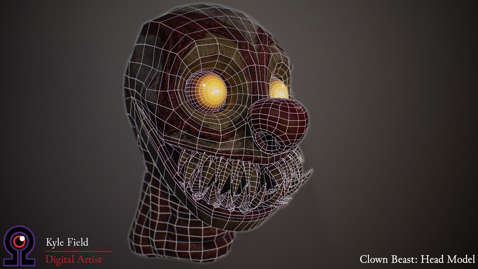 Kyle field 4 clownbeast wireframe web