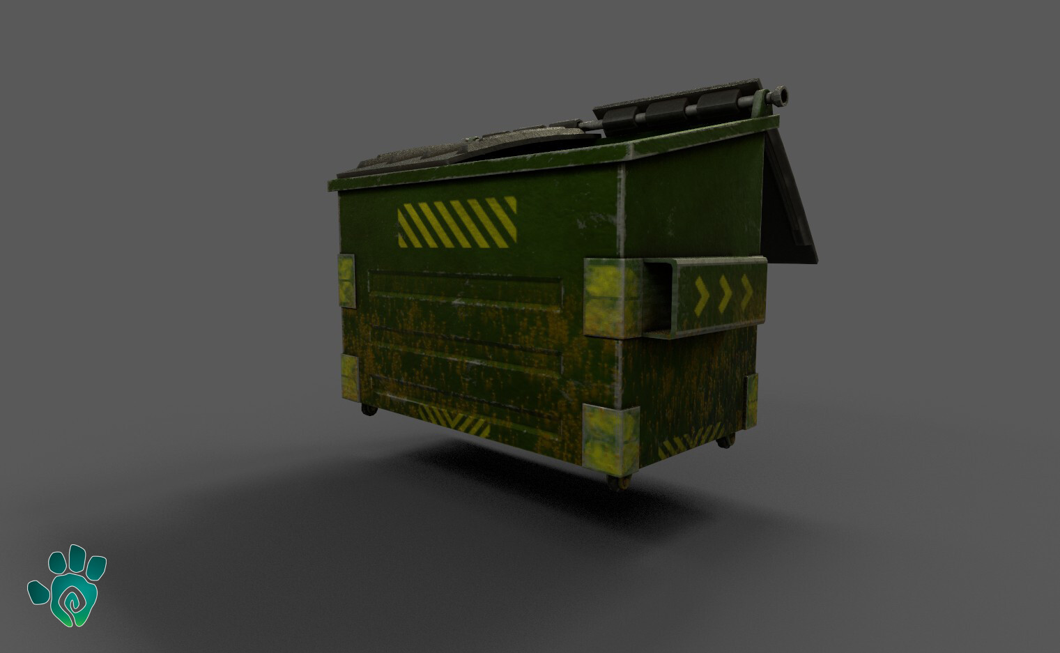 Realistic Dumpster