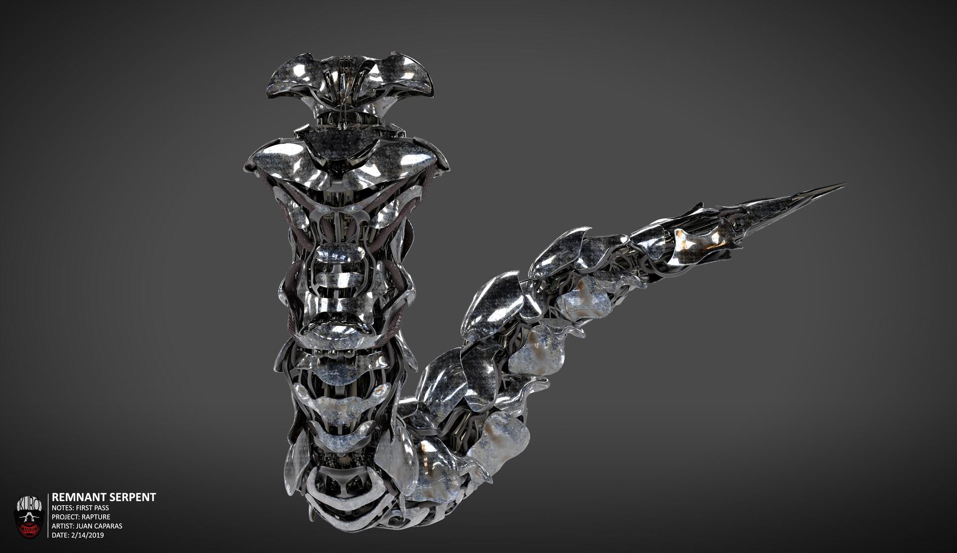 Remnant Serpent Concept   Kuro Majin Productions