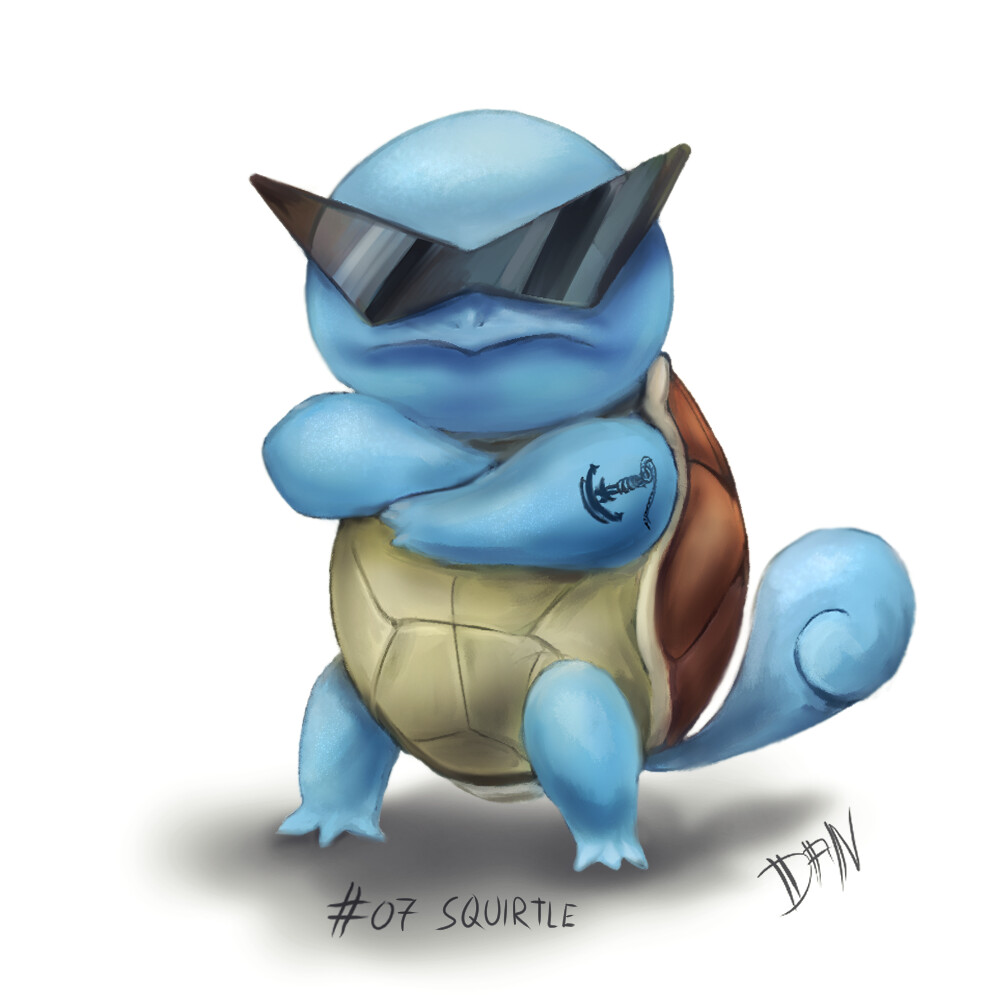 07 - Squirtle