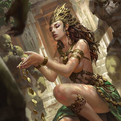 Wisnu tan gold dust goddess reg uplox