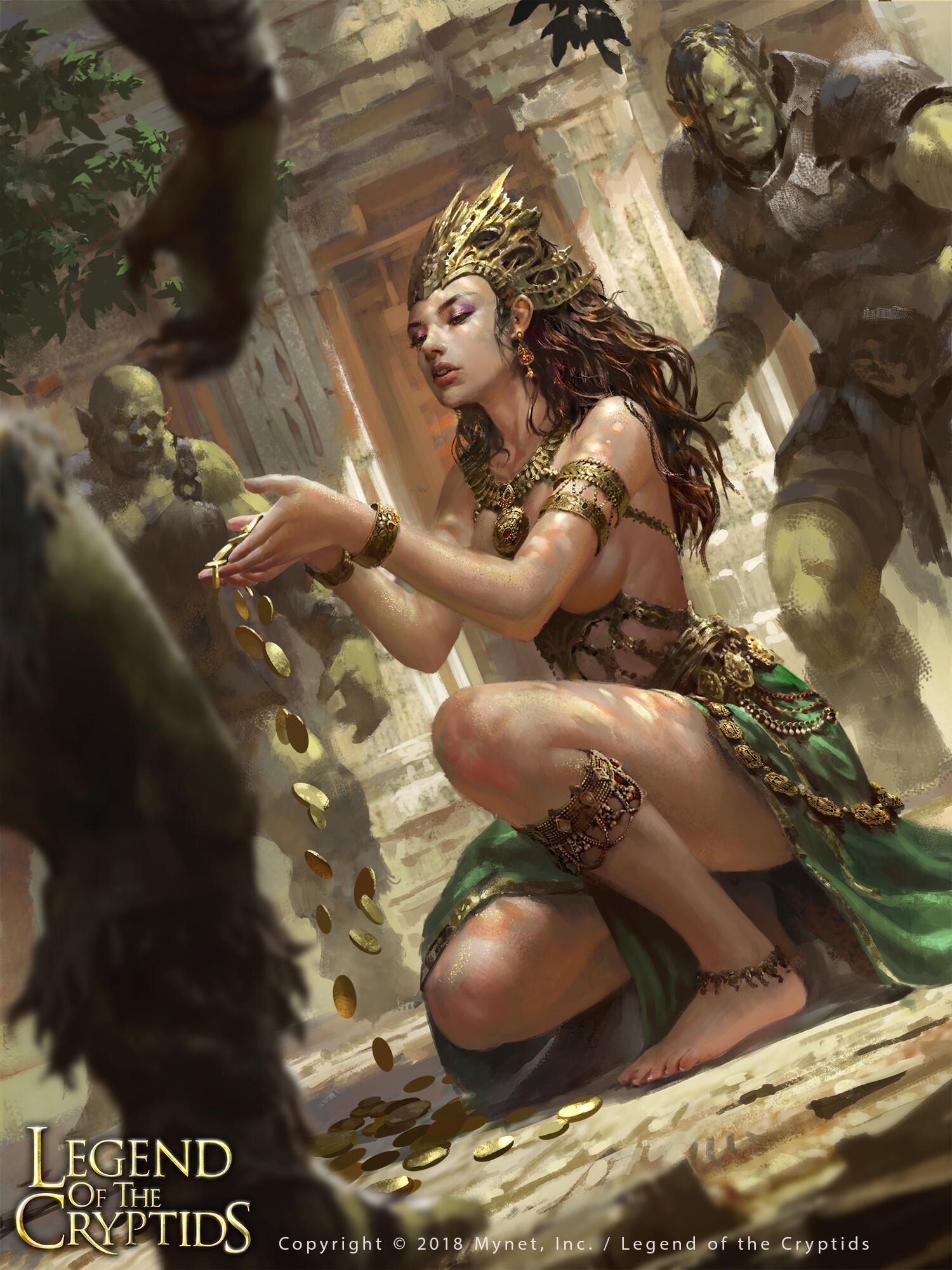 Wisnu tan gold dust goddess reg uplox