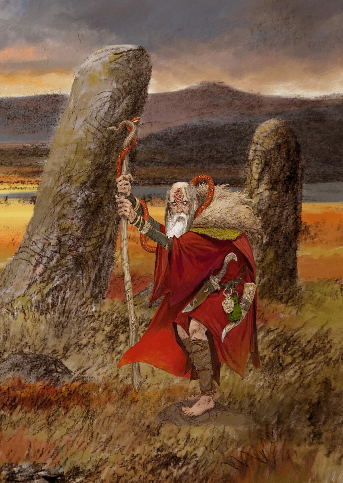 Adrian smith serpent shaman colour lo