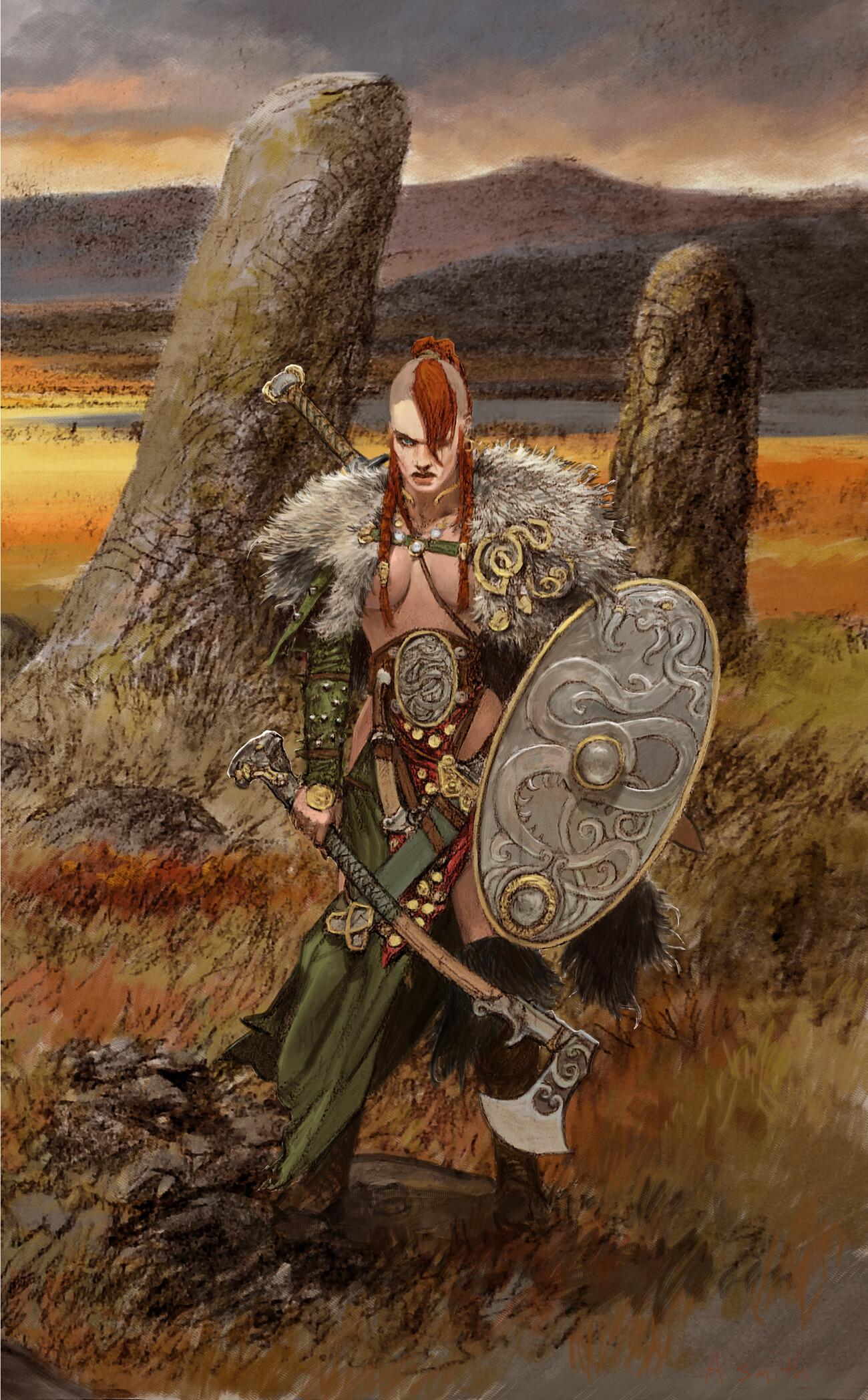 Adrian smith serpent warrior colour lo
