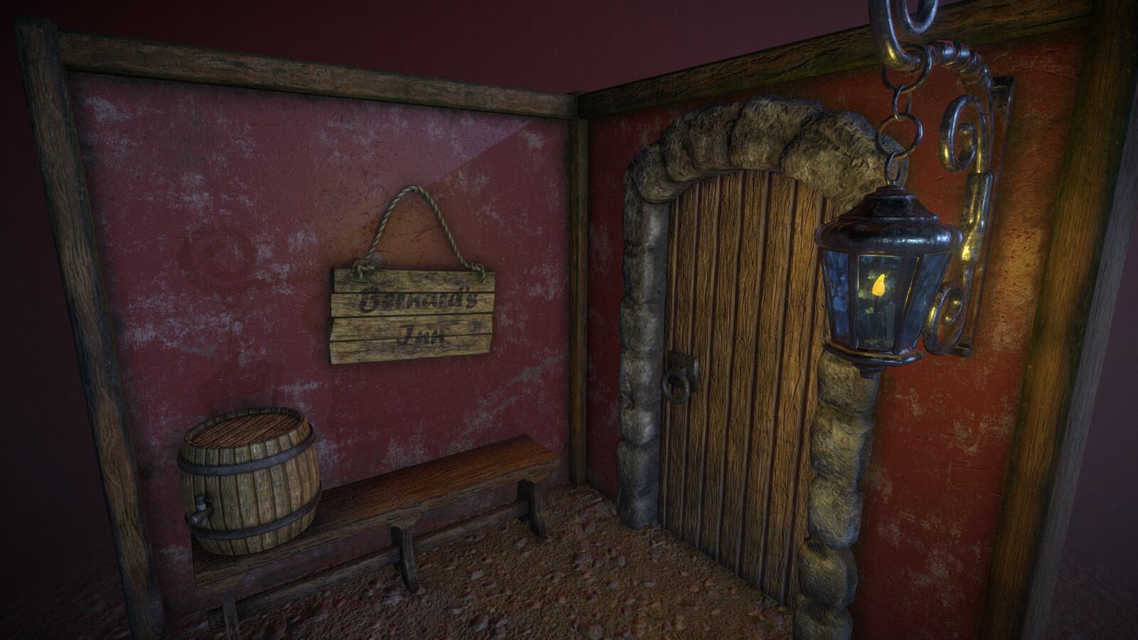 Bernard's Inn (Night).