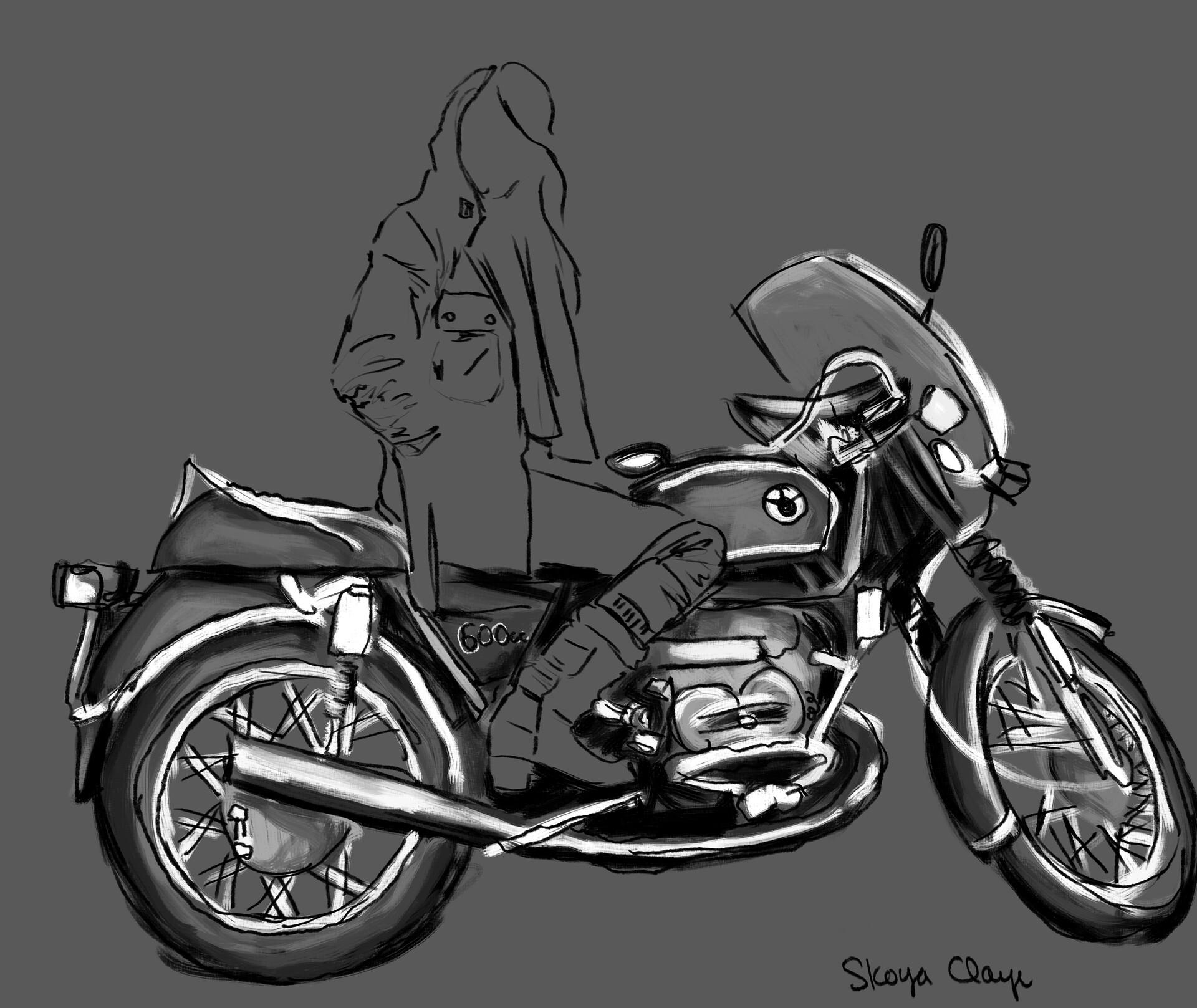 Skoya clayr motorcyclebabe1