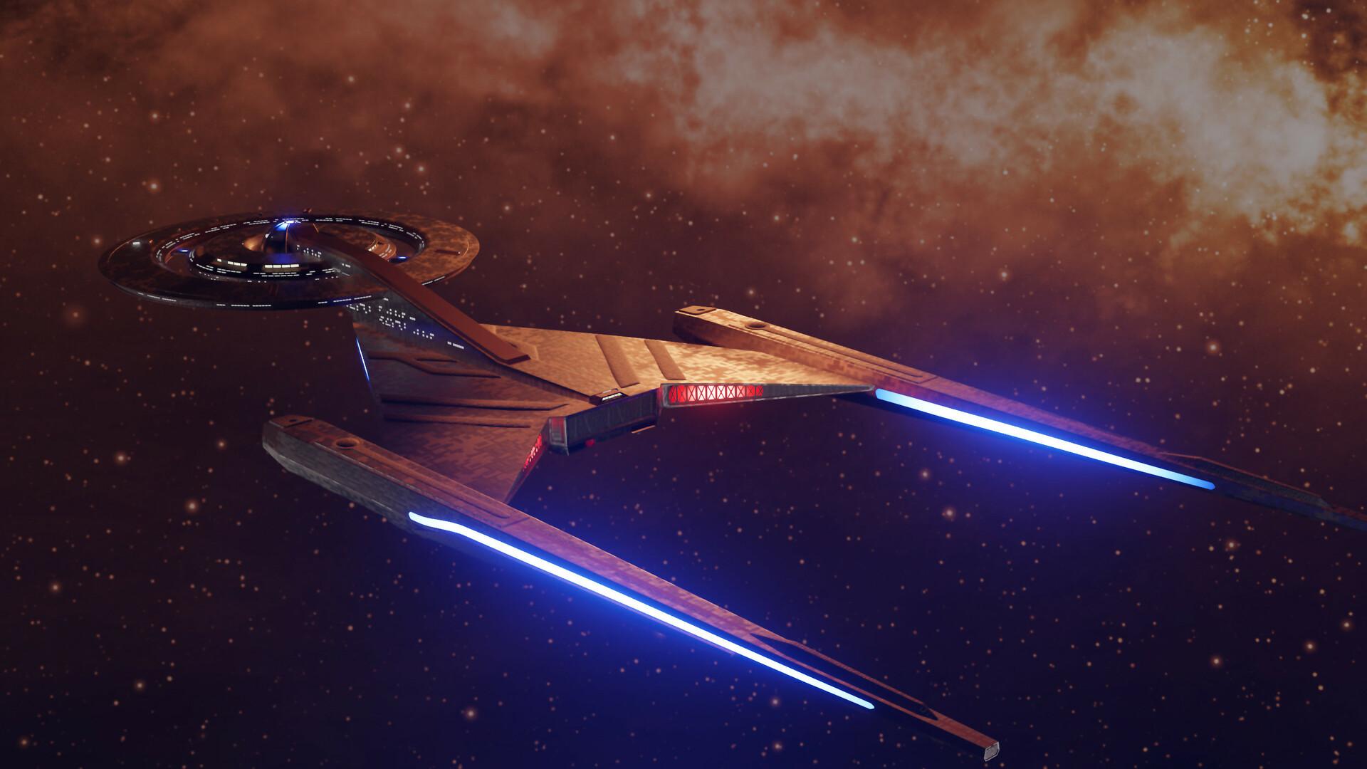 Artstation Uss Discovery Star Trek Status451 Cg