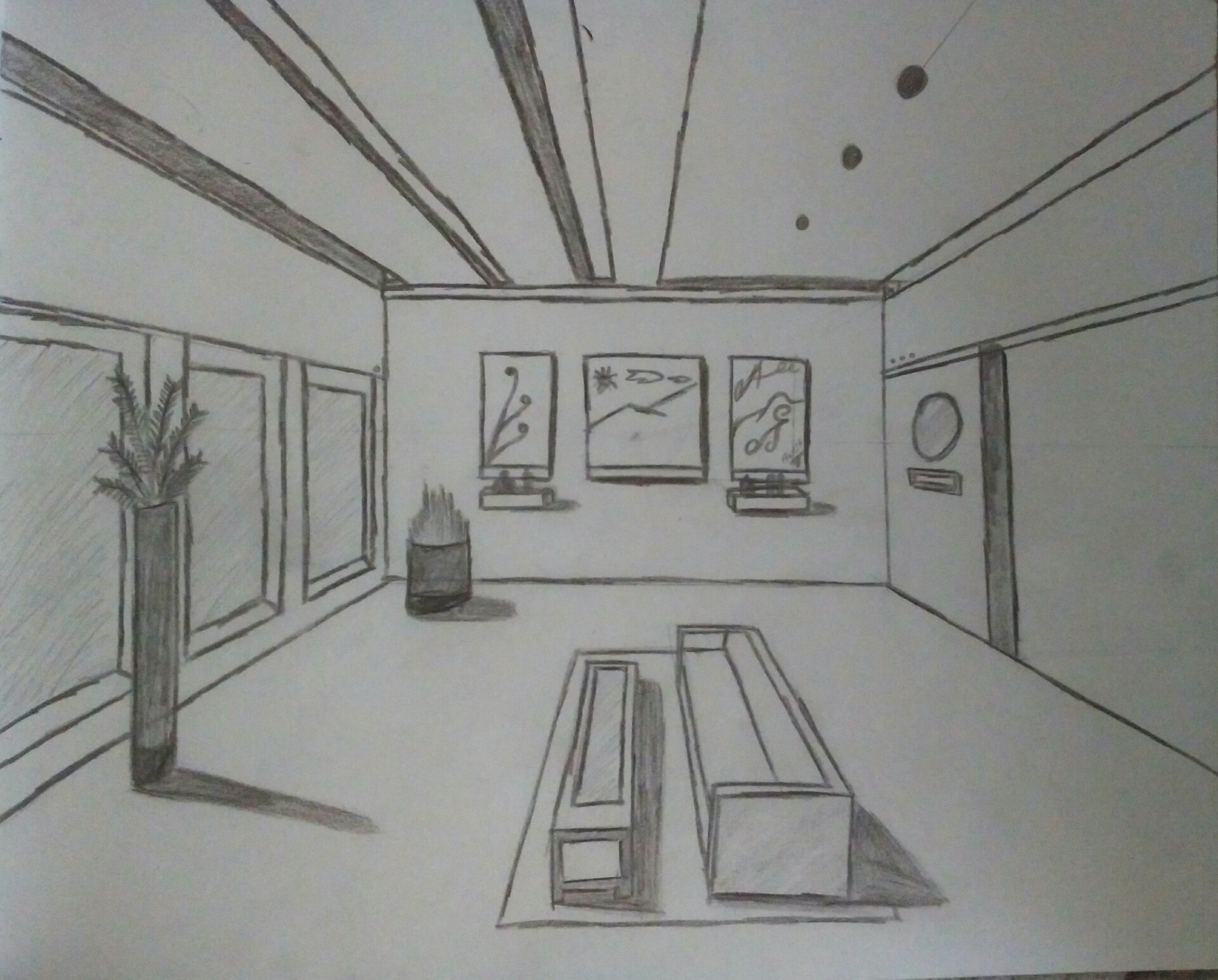 Fantastic Artstation One Point Perspective Room Ankit Gawai Download Free Architecture Designs Scobabritishbridgeorg
