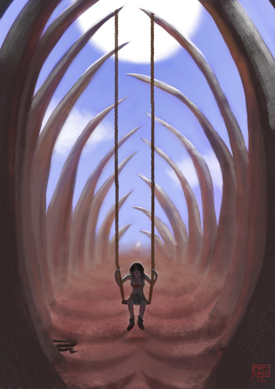 Seule dans la cage (Alone in the Cage)