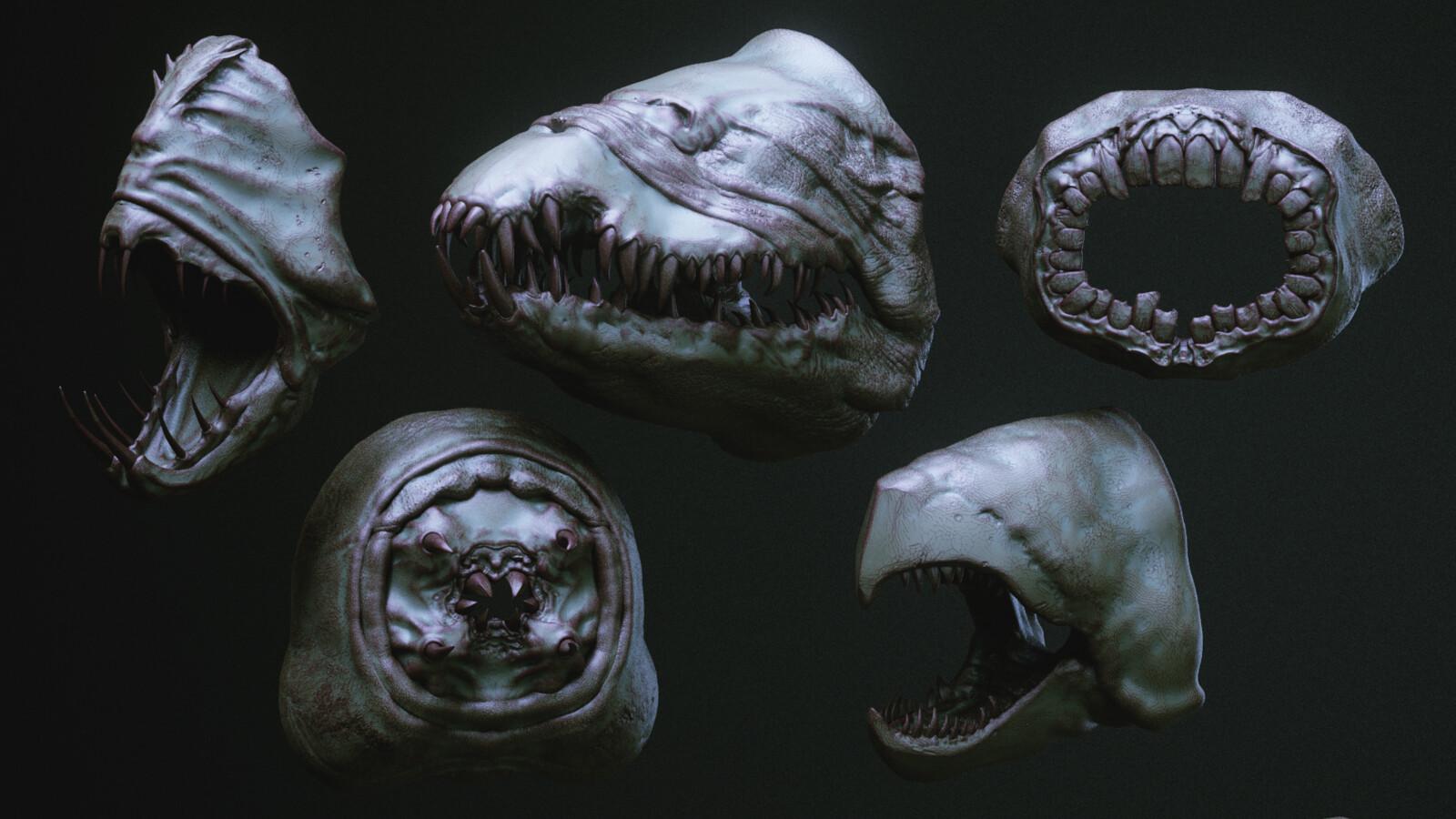 Fangtooth ■ Sarakh ■ Bluntsucker ■ Ragworm ■ Snapper