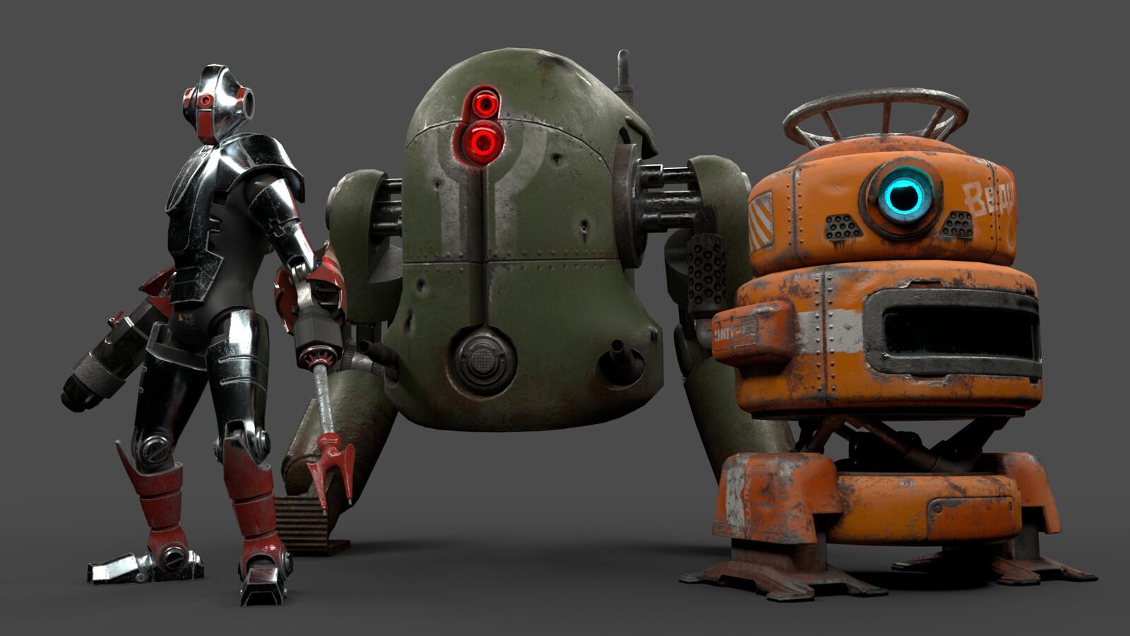 Unreleased Robots