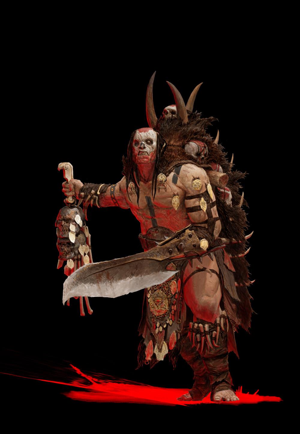 Adrian smith tribe3 shaman coloured