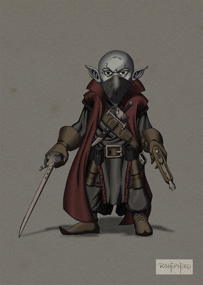 A Deep Gnome - Rogue - Arcane Trickster