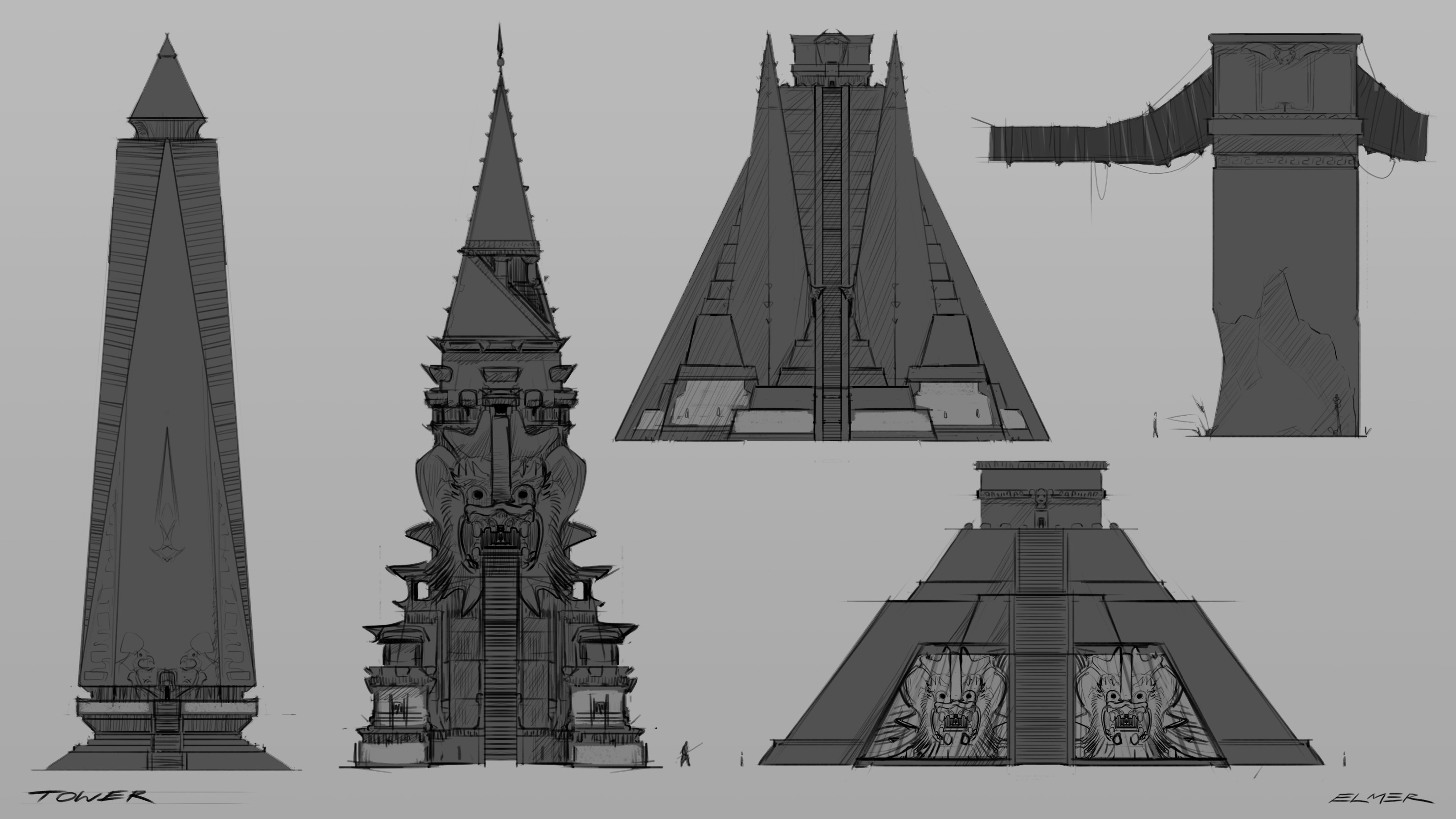 Tower options