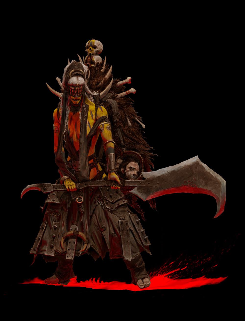 Adrian smith tribe 4 shaman coloured