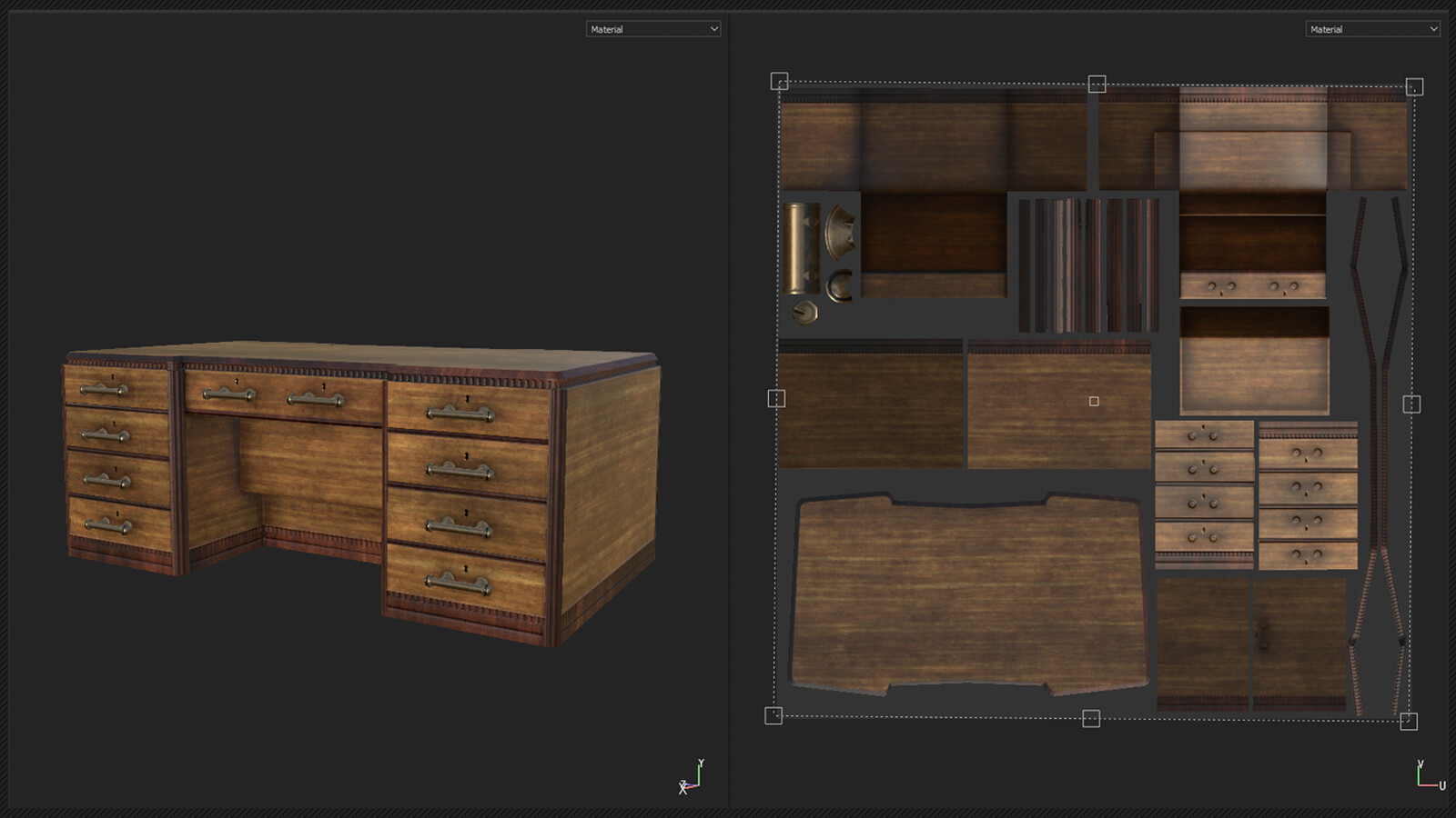 preview render from substance painter