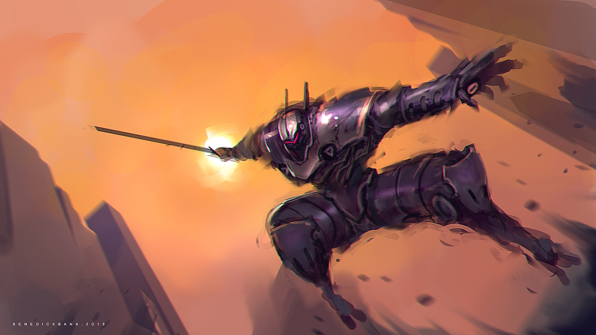 Benedick bana attack from above final lores