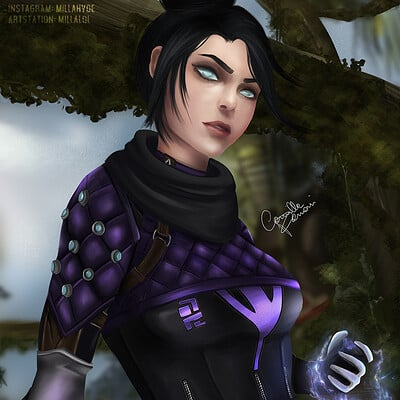 Camilla ferrari wraith artsttation