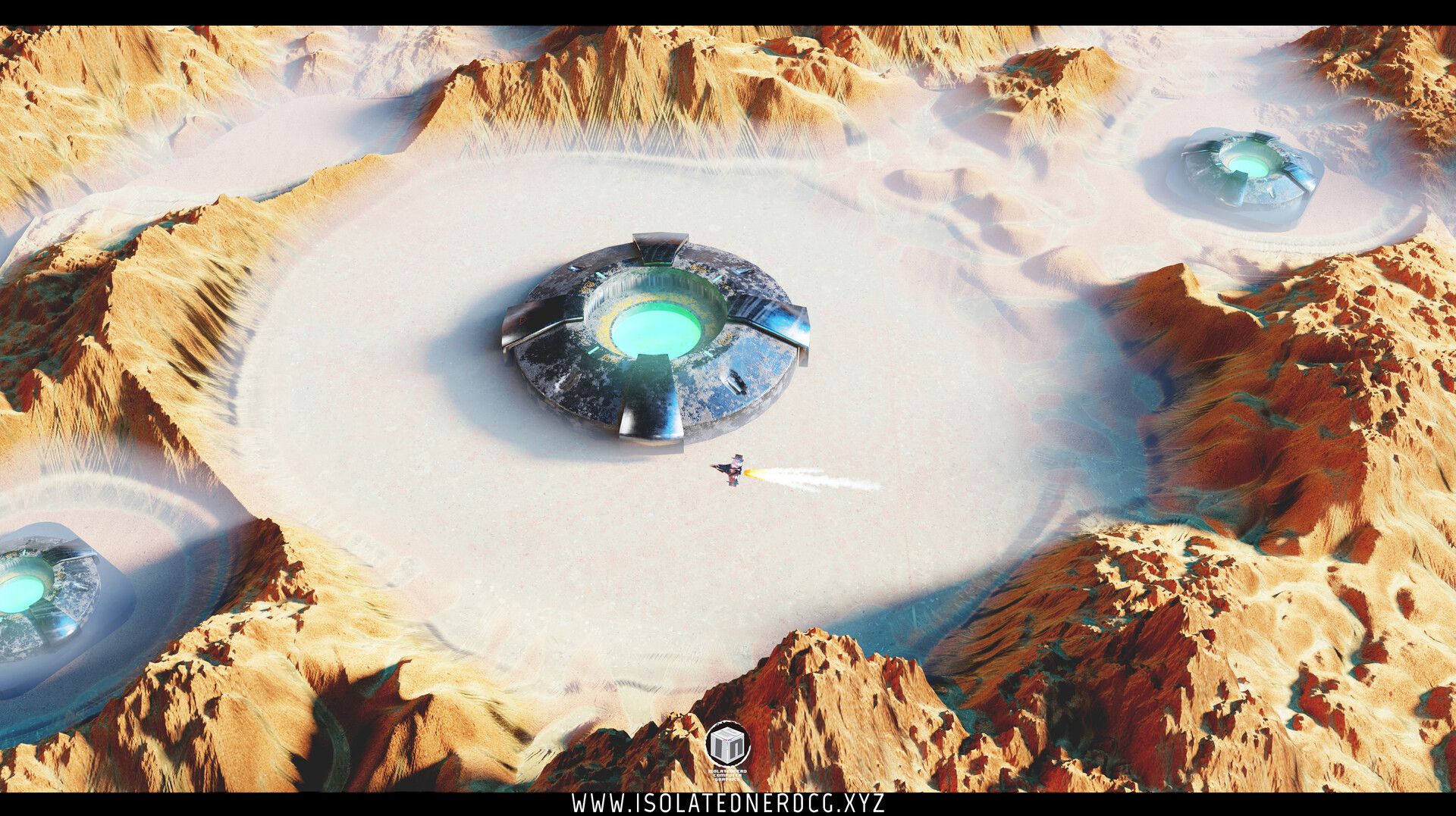 Matias toloza isolatednerdcg crater sketch cycles edit blenderart