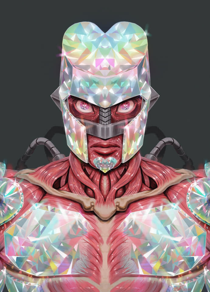 Artstation Crazy Diamond Miki Sakamoto In the midst of that, your power is kinder than anything else. artstation crazy diamond miki sakamoto