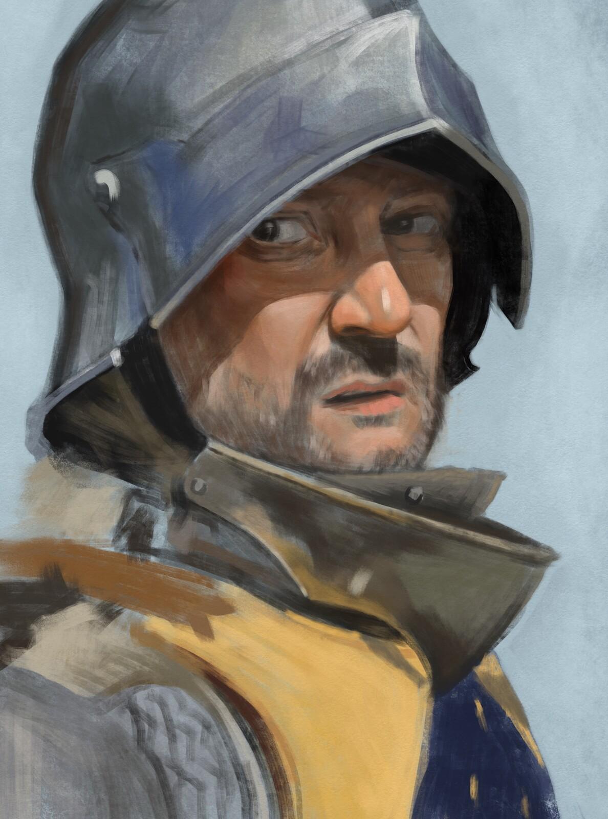 Knight study III