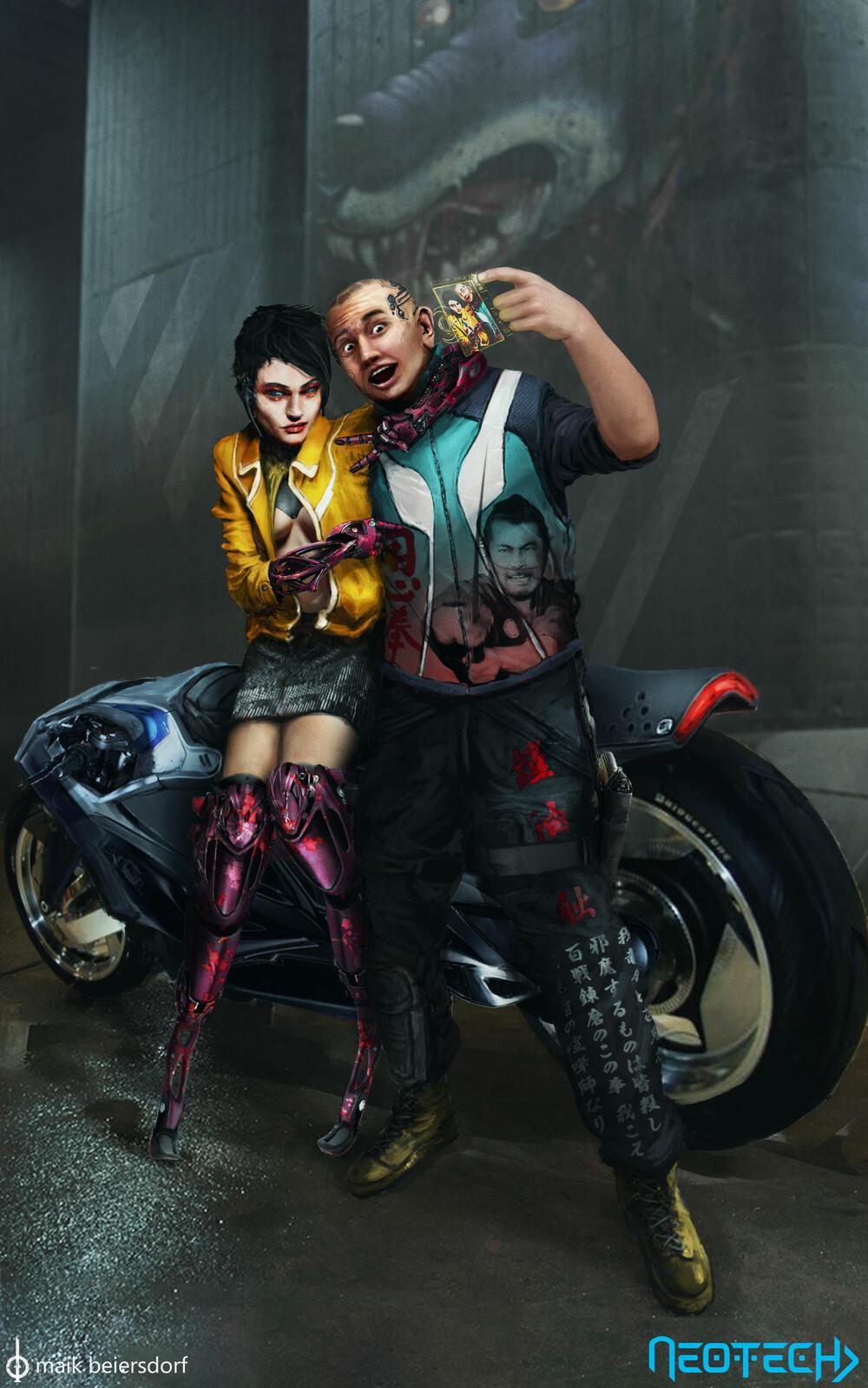 Neotech - Cyberpunk Subcultures