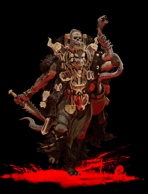 Adrian smith shaktar shaman coloured