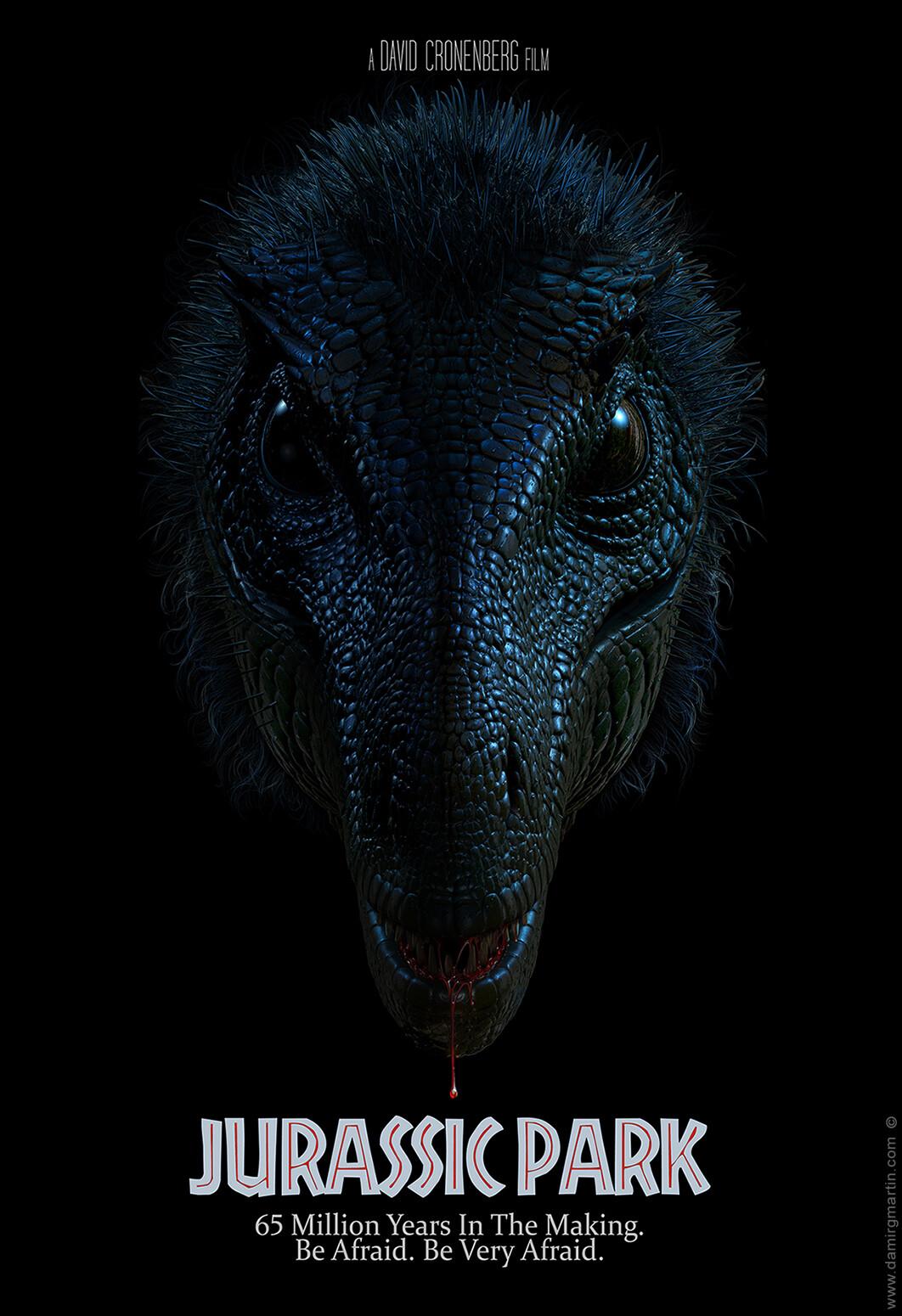 Jurassic Park Alternative Movie Poster