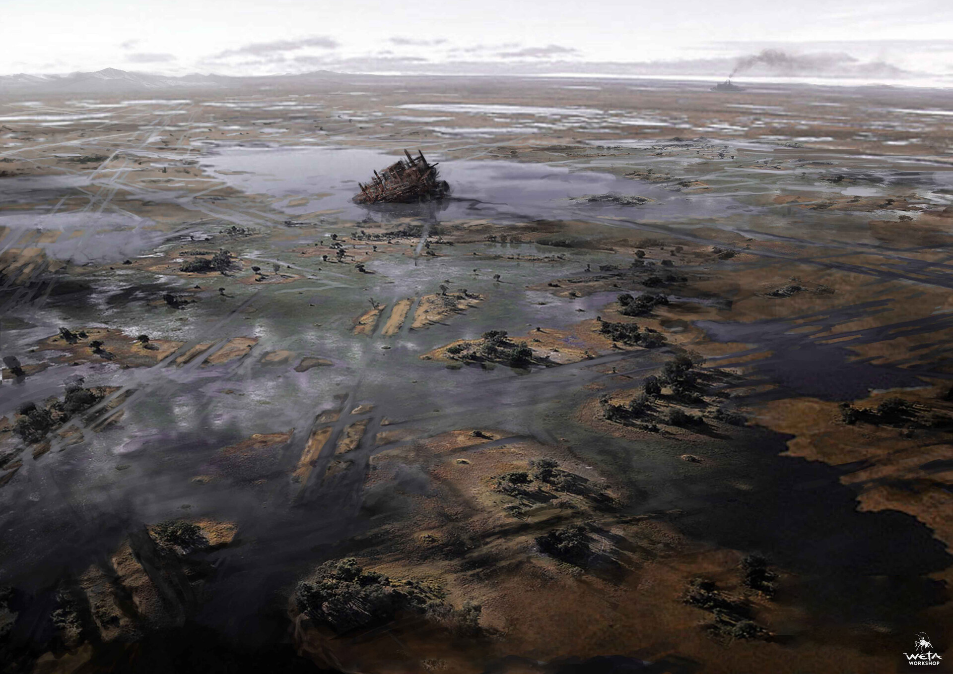 Weta workshop design studio rustwater marshes nk