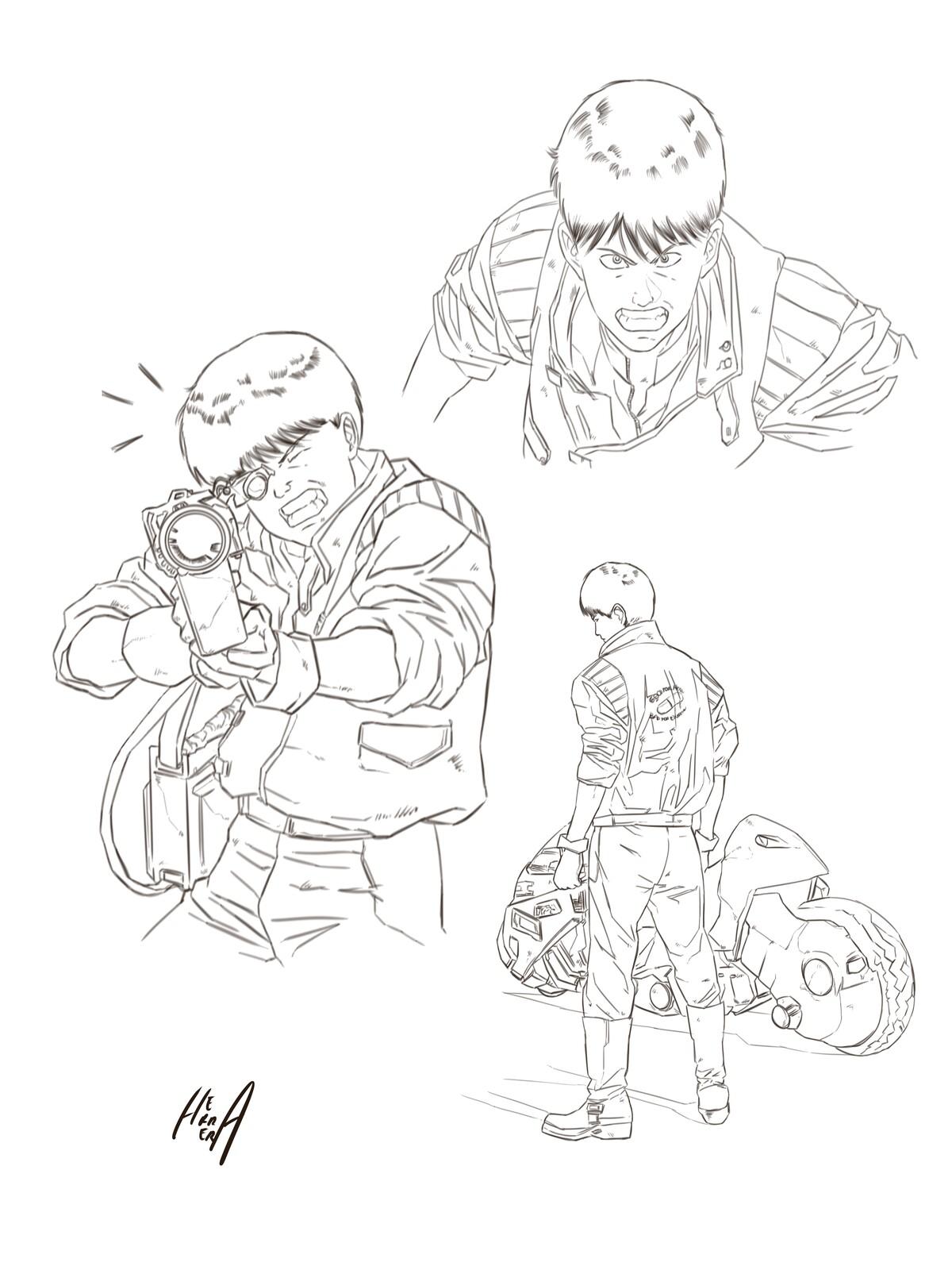 Kaneda sketch