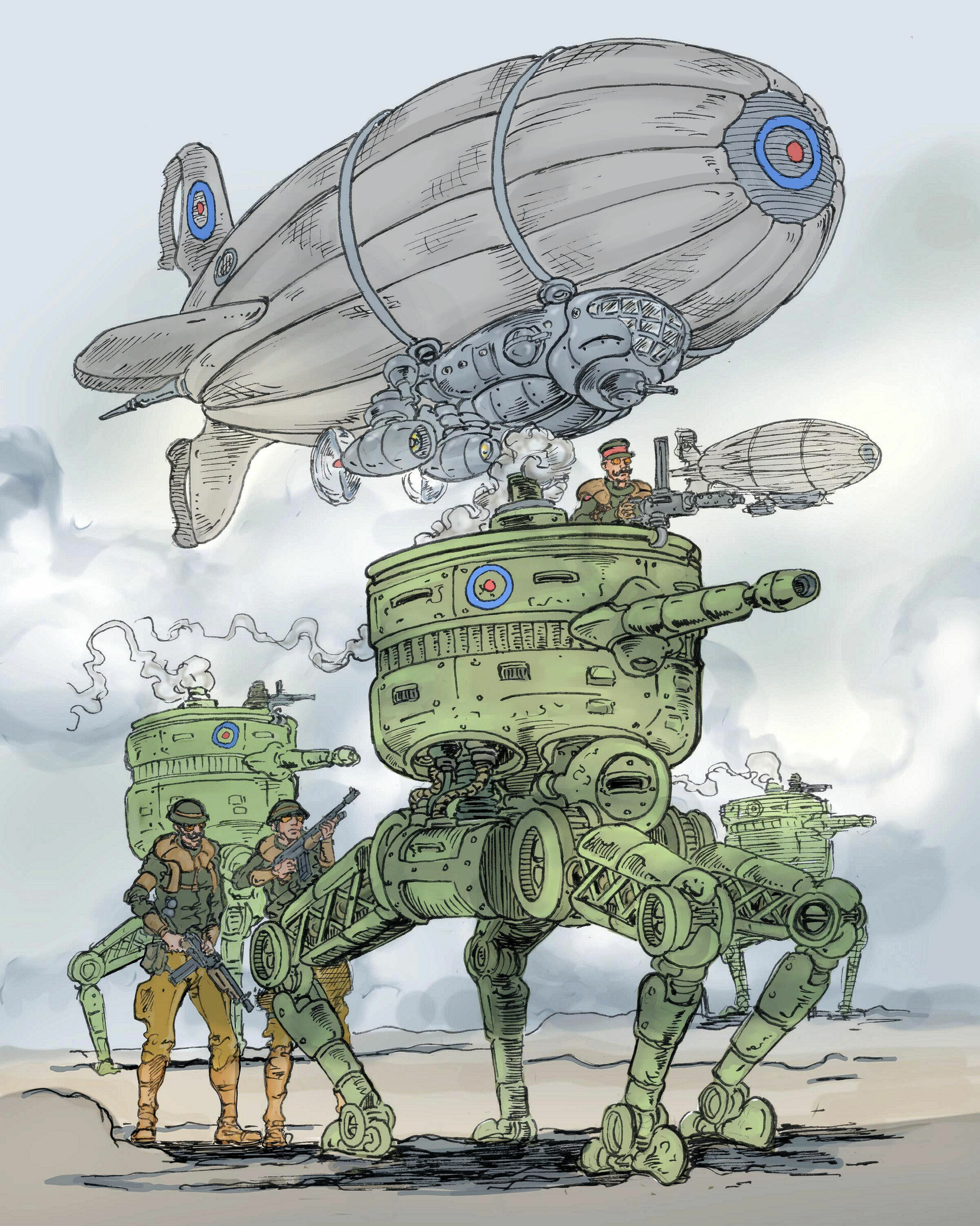Vincent bryant hold the line steampunk
