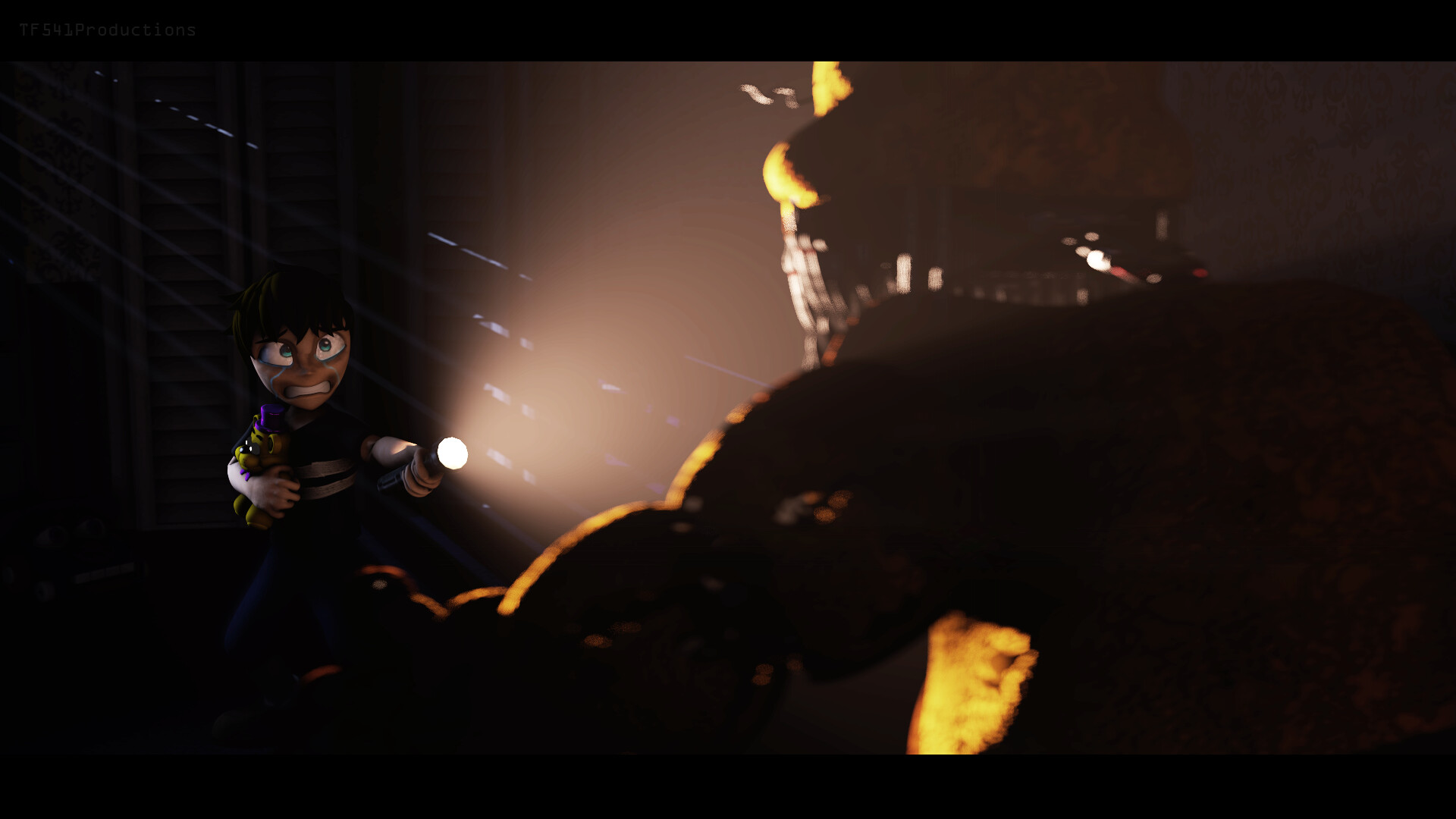 ArtStation - Five Nights at Freddy's 4 - Character Model