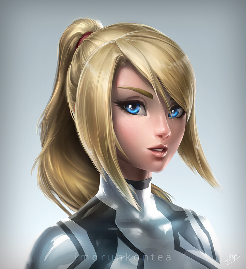 Brandon dunn zs samus portrait white final web