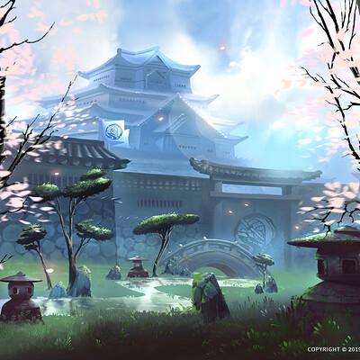 Nele diel castle garden