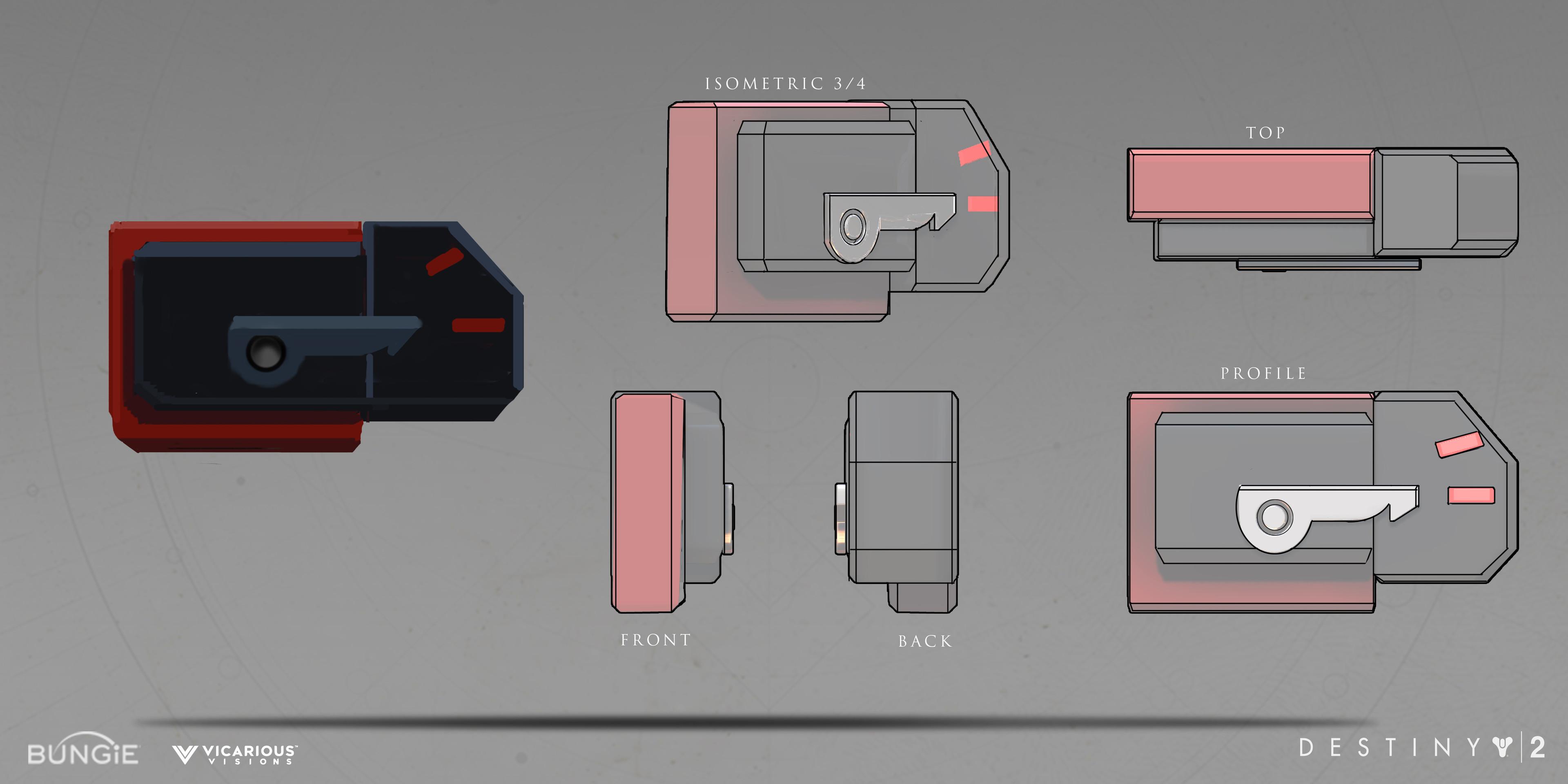 Black Armory Telemetry Box accessory B: