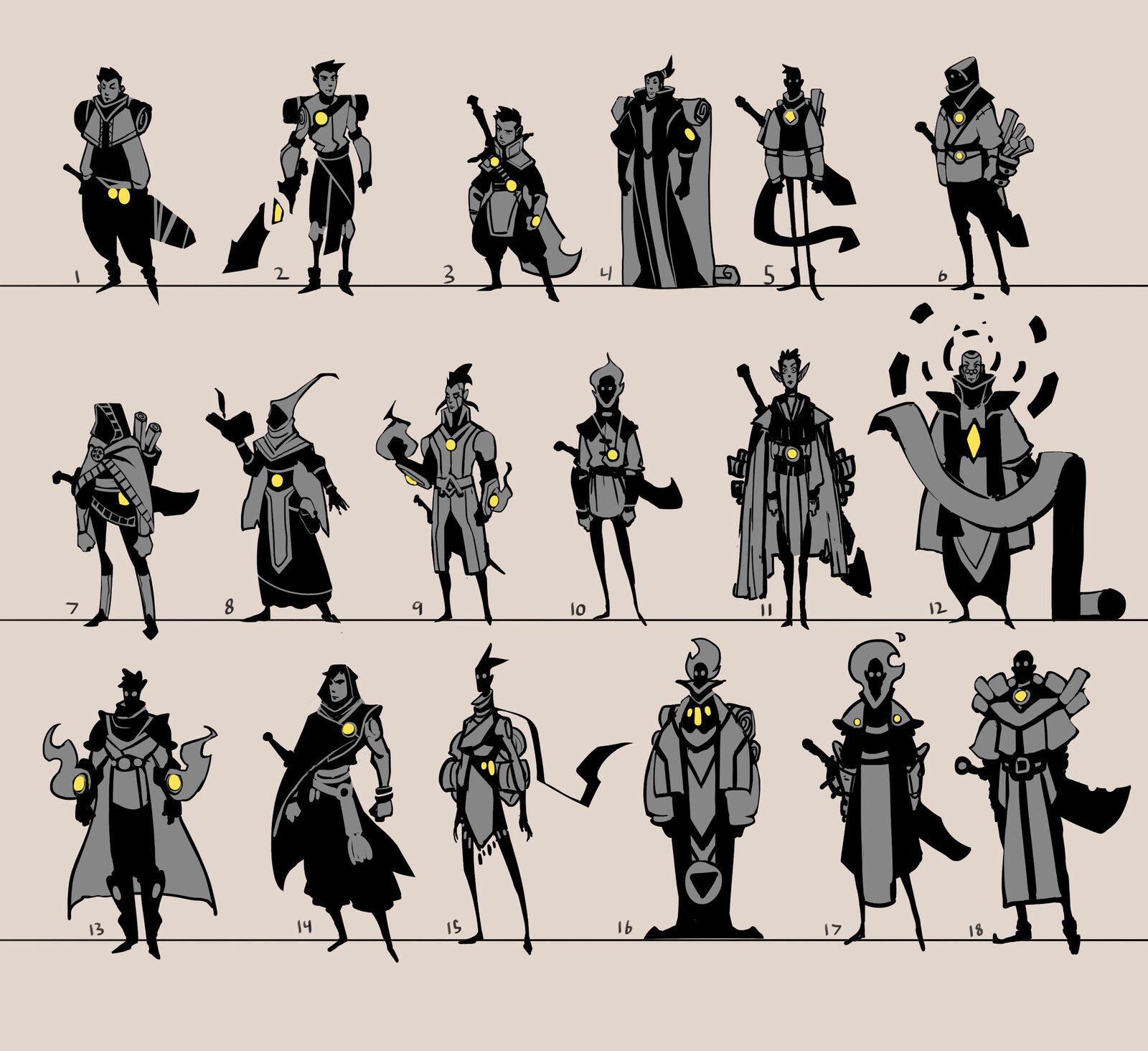 Thumbnails for a Personal Project