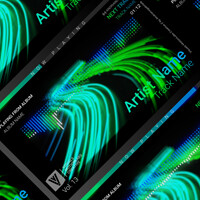ArtStation - Audio Spectrum / Music Visualizer Concept S6