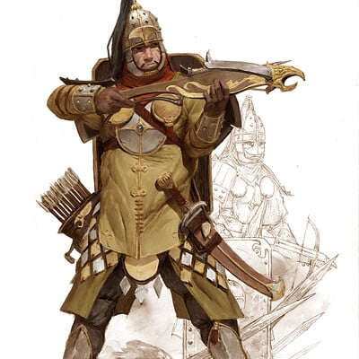 Adrian smith crossbowman2 colour lo
