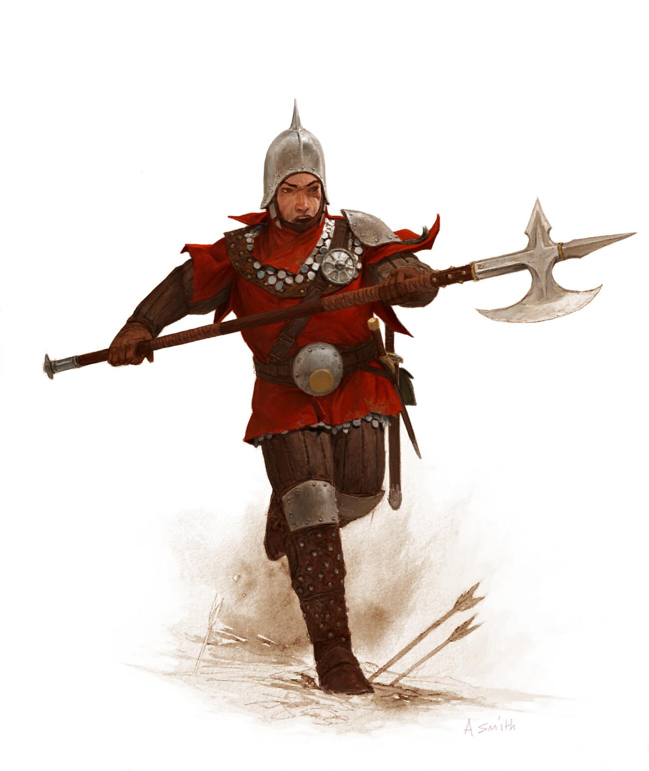 Adrian smith guard colour lo