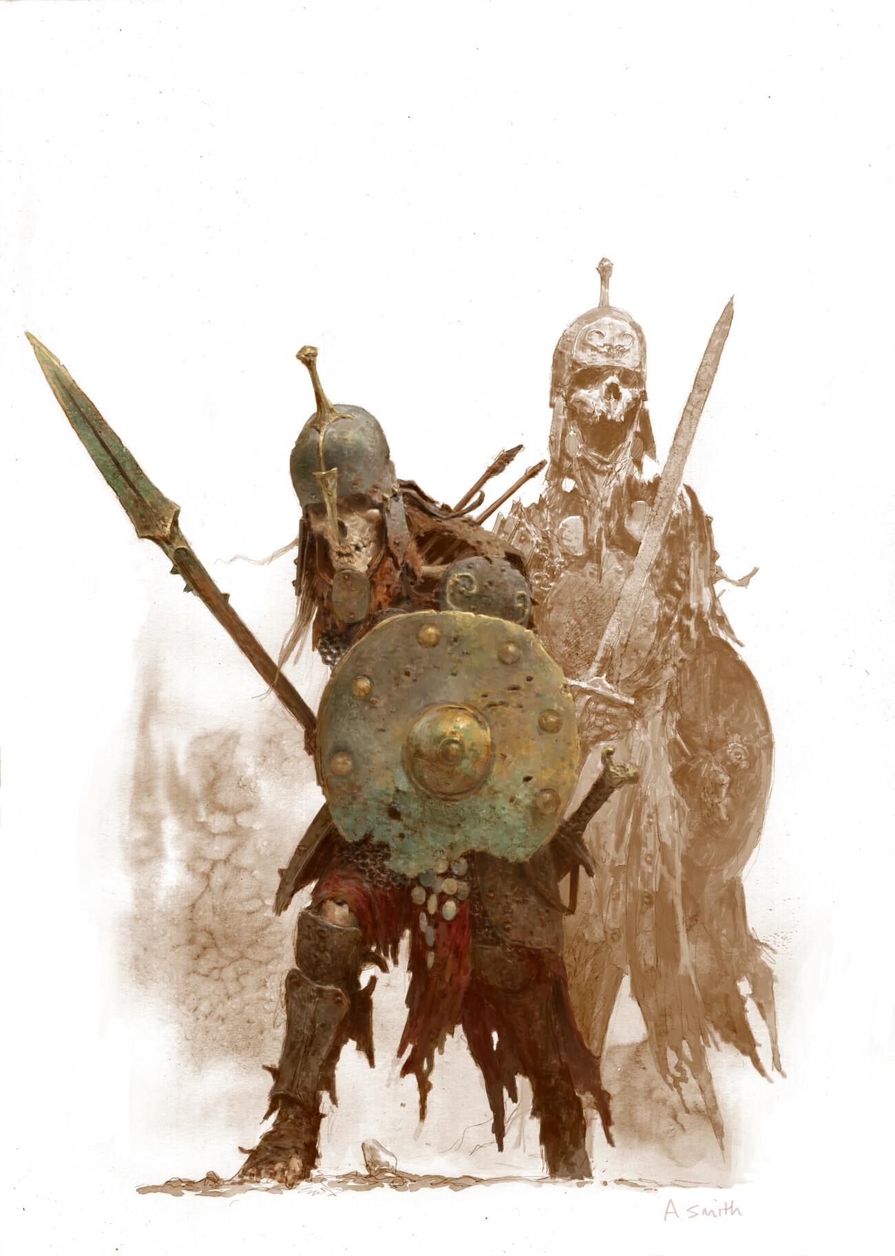 Adrian smith skeleton warriors colour lo