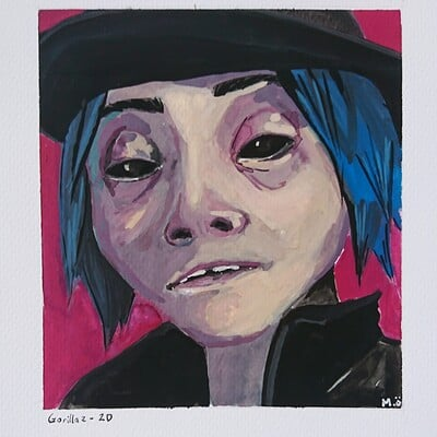 Michaela osterlindh gorillaz2d