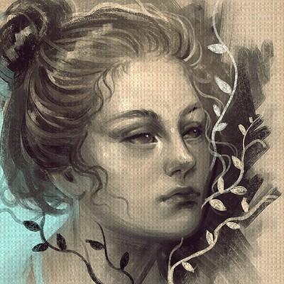 Lourdes saraiva digital sketch