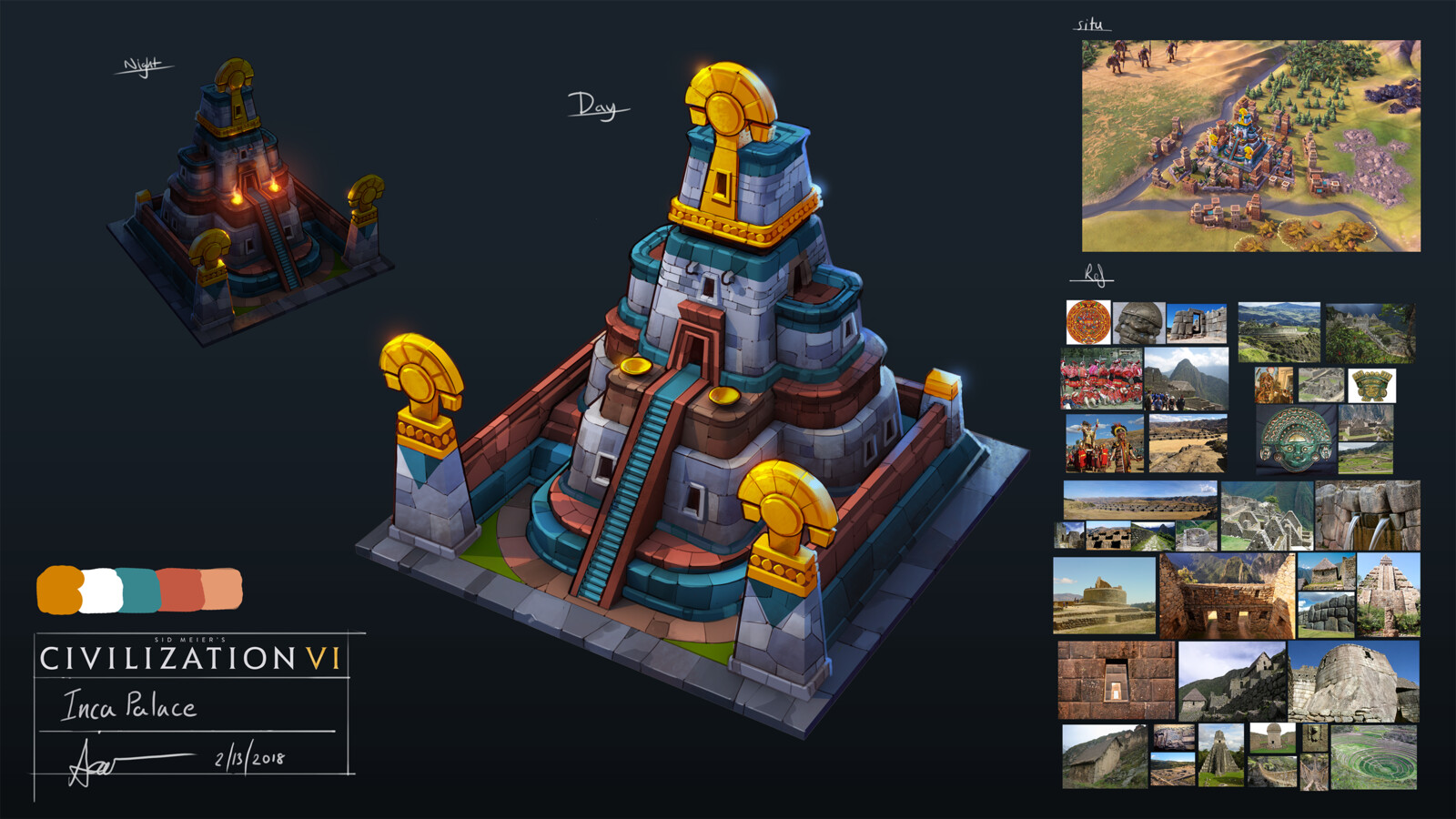 A palace design for the new Inca faction.